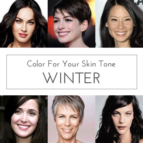 hair color for winter complexion hair colors for winter skin tones find your perfect hair