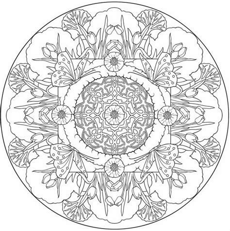 mandala images coloring pages butterfly mandala to color from nature mandalas coloring