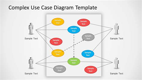 use case powerpoint diagram slidemodel