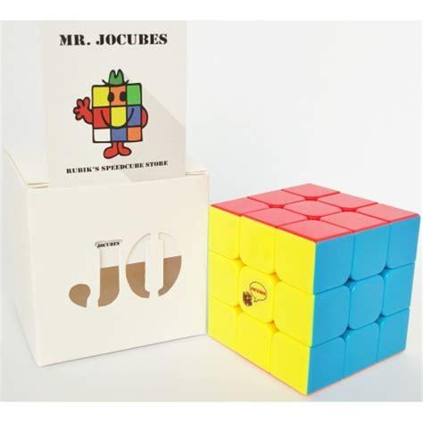 Rubik 3x3 Jocubes Speedcube Stickerless Pink 3x3 jocubes stickerless speedcube