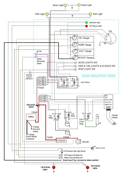 vw sand rail wiring diagram agnitum me