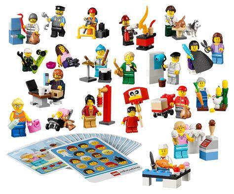 Thank You Card Mini Tema Lego community minifigure set