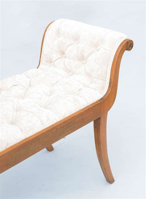 roll arm bench roll arm bench for sale at 1stdibs