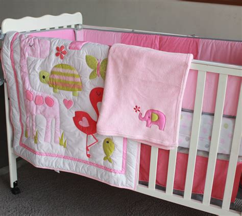 Flamingo Crib Bedding Get Cheap Flamingo Baby Bedding Aliexpress Alibaba