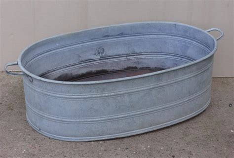 Large Wash Tubs scout house vintage large laundry wash tub