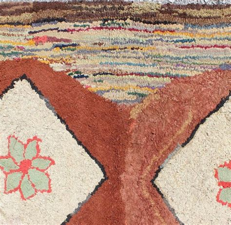 hooked rugs for sale antique american hooked rug for sale at 1stdibs