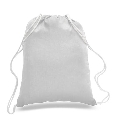 Tas Serut Drawstring Grey economical sport cotton drawstring bag cinch packs cheap