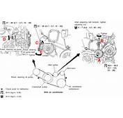 2000 2004 Infiniti I30 / I35 Drive Belts Replacement Procedure