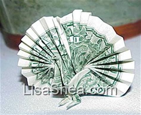 Money Origami Peacock - japanese money origami peacock s japanese pages
