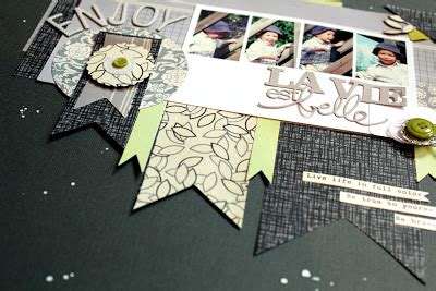 Creating Hybrid Scrapbook Layouts The Mad Cropper 3 by Lilith S Scrapbooking Venture Enjoy