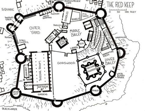 layout game of thrones map of the red keep asoiaf pinterest posts maps and
