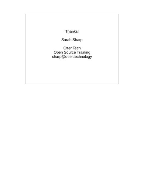 LAS16-200K2: Corporate Open Source Fail – Sarah Sharp