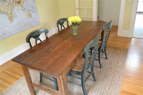 diy dining table farmhouse table diy fox and hammer
