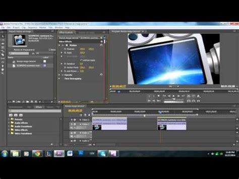 Adobe Premiere Pro Resize Image | how to resize an image or picture in adobe premiere pro