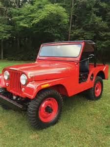 1957 Willys Jeep Sweet 1957 Jeep Willys Cj5 Engine For Sale