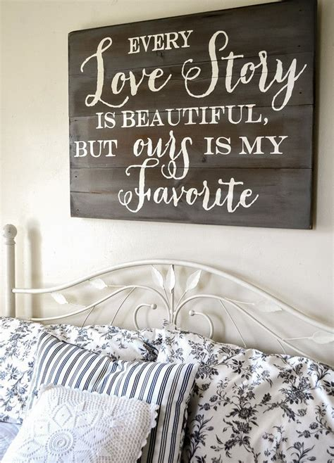Bedroom Signs by Story Sign Bedroom Ideas Home Decor Home Wood Signs