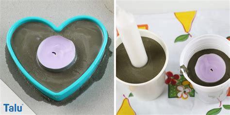 kerzenhalter basteln basteln mit beton deko aus beton kreative ideen talu de