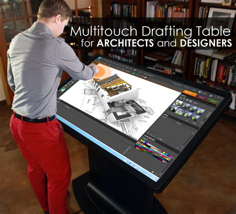 best gadgets for architects multitouch drafting table for architects designers and