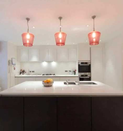 glass kitchen light fixtures romantic interior decorating with handmade colored glass
