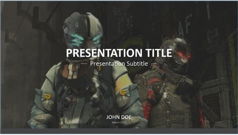 free video game powerpoint template 7753 sagefox