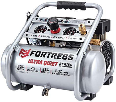 new ultra harbor freight fortress air compressor