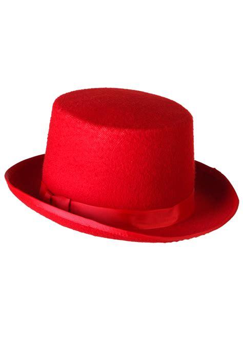 decke rot tuxedo top hat