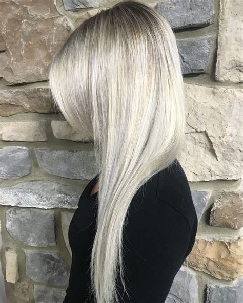 frosted hair color frosted white hair color hairstyles created by