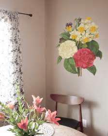 ceramic decals vintage style flower floral bunch design ebay bouquet vintage wall decal designyourwall