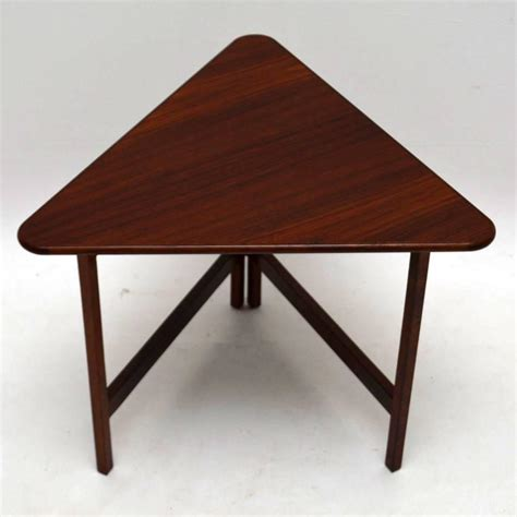 rosewood folding coffee table design vintage