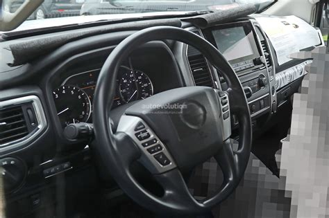 Nissan Patrol Facelift 2020 by 2020 Nissan Titan Spied Inside And Out Autoevolution