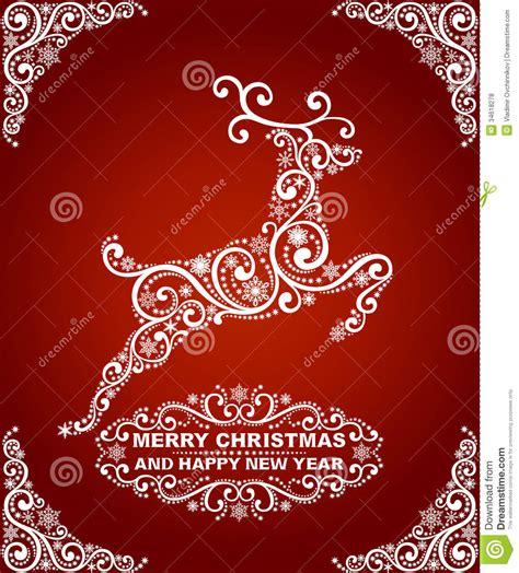 abstract christmas card royalty  stock  image