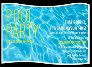 Pool Invitations Free Templates by Free Pool Invitations Gangcraft Net
