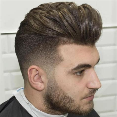 hardo with feathered sides 100 new men s haircuts 2018 hairstyles for men and boys