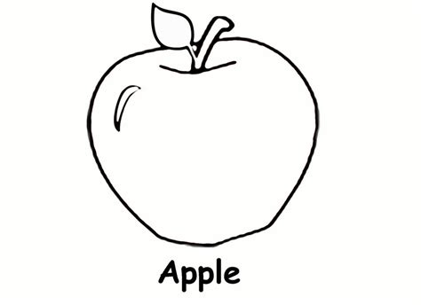 coloring book page apple apple coloring pages fotolip com rich image and wallpaper