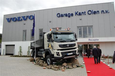 truck volvo dealer volvo trucks opens dealership in belgium autoevolution
