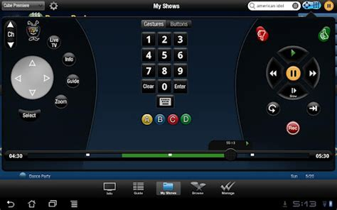 screenshot apps for android tablets tivo android tablet screenshot 7 gizmo