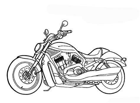 Ausmalbilder Motorrad by Malvorlagen Zum Ausdrucken Ausmalbilder Motorrad Kostenlos 2