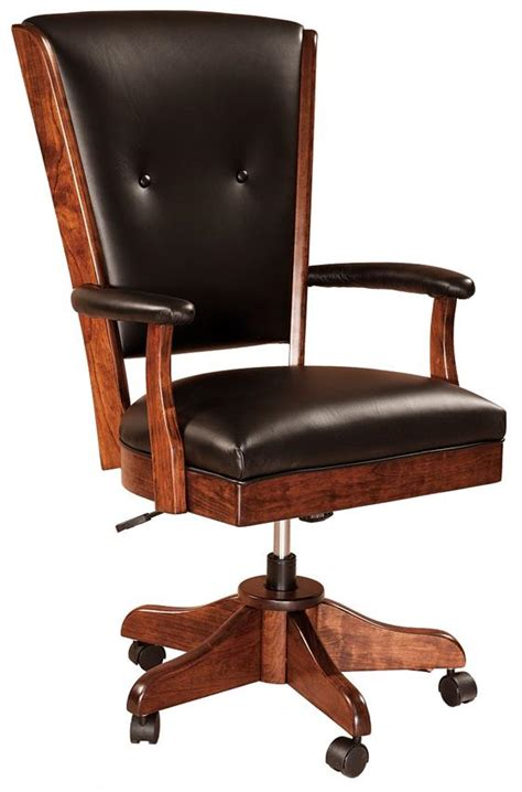 Amish Desk Chair by Berkshire Desk Chair From Dutchcrafters Amish Furniture