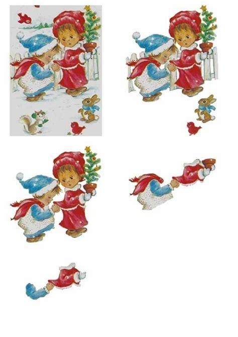 Decoupage Editing - 117 best images about 3d afbeeldingen on kerst
