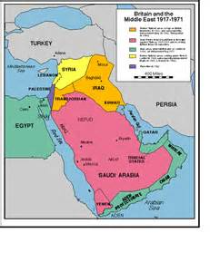 middle east map pre world war middle east maps
