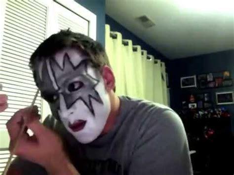 kiss makeup tutorial the official gene simmons makeup look kiss doovi