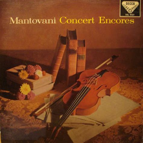mantovani encores mantovani and his orchestra concert encores at discogs