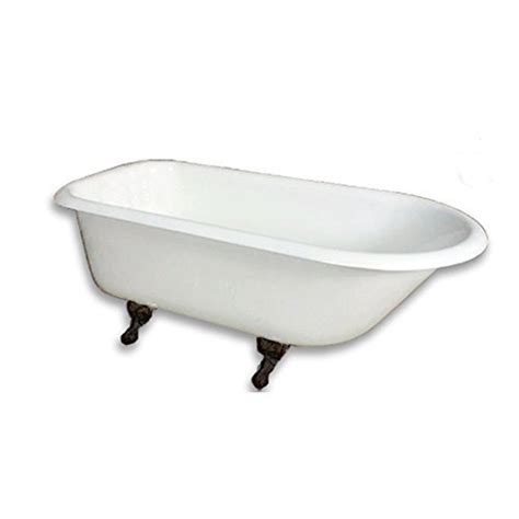 Cast Iron Bathtub Prices by Cast Iron Rolled Tub Rubbed Bronze