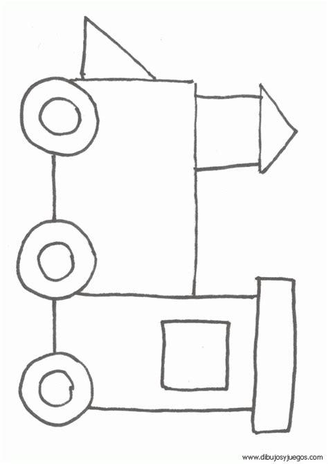 imagenes geometricas para dibujar como dibujar un tren con figuras geometricas imagui