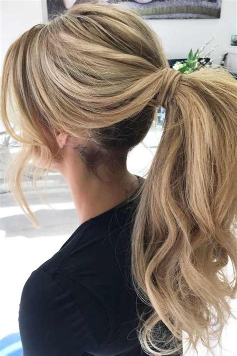 25 best ideas about ponytail hairstyles on best 25 ponytail hairstyles ideas on
