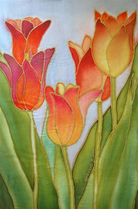 17 best ideas about silk painting on batik