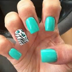 teal color nails i everything about these nails teal my fav color