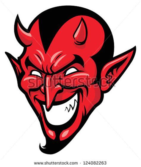 Devil Head Mascot Stock Vector 210370882   Shutterstock