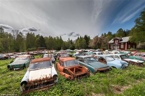 Collector House by Photographer Svein Nordrum Captures Sweden S Classic Car