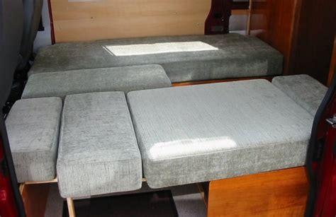 self build sofa van sofa bed extension diy rv sofa bed designed by ian and